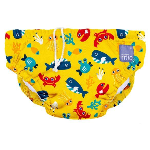 Bambino Mio úszópelenka Deep sea yellow