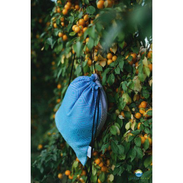 Little Frog  zsinóros táska - BLUEBERRY CUBE