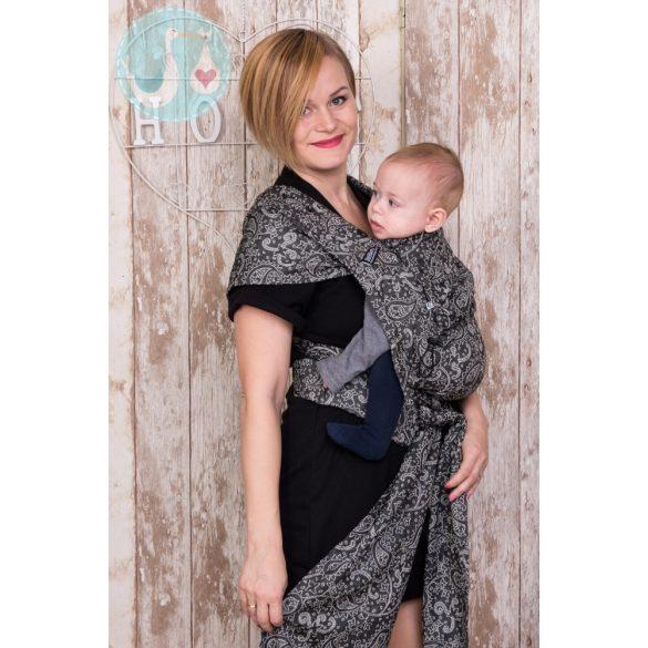 NEKO Félcsatos- Baby Size - Efes Paisley Hazel Dark
