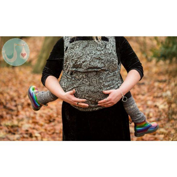 NEKO Félcsatos - Toddler Size - Efes Paisley Hazel Dark