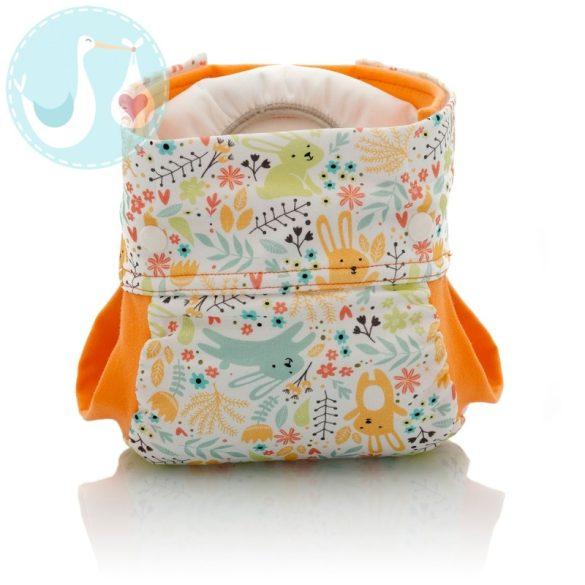 Culla di Teby Biopamut mosható pelenka külső - Happy Rabbit- L