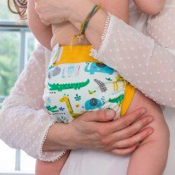 Culla di Teby Biopamut mosható pelenka külső - JUNGLE Les