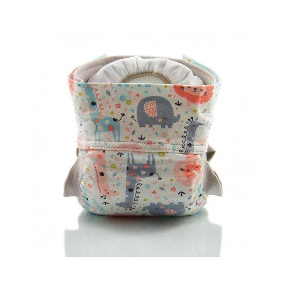 Culla di Teby Biopamut mosható pelenka külső - PINK JUNGLE-L