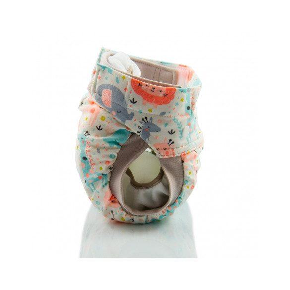 Culla di Teby Biopamut mosható pelenka külső - PINK JUNGLE