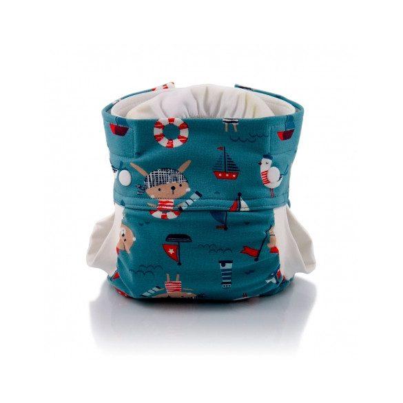 Culla di Teby Biopamut mosható pelenka külső - PIRATES-L