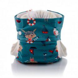Culla di Teby Biopamut mosható pelenka külső - PIRATES