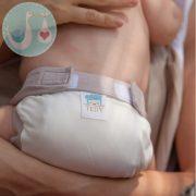 Culla di Teby Classic pamut mosható pelenka külső - Szürke - M